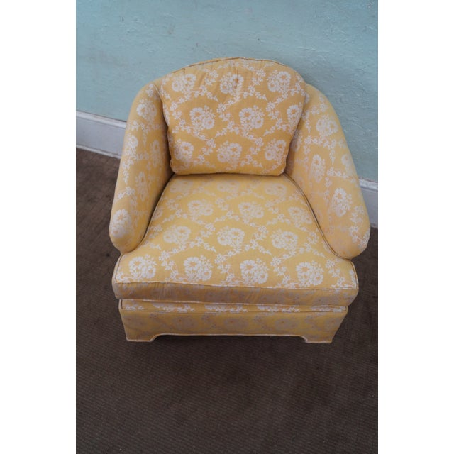 Mid-Century Barrel Back Lounge Chairs - Pair - Image 10 of 10