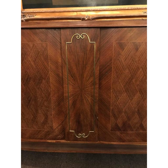 1930s Vintage Palatial Art Deco Gaessiar Ebenistes French Sideboard For Sale In New York - Image 6 of 10