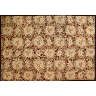 "Stark Studio Rugs Traditional Portuguese Needlepoint Rug - 12'"" X 16'1"" For Sale"