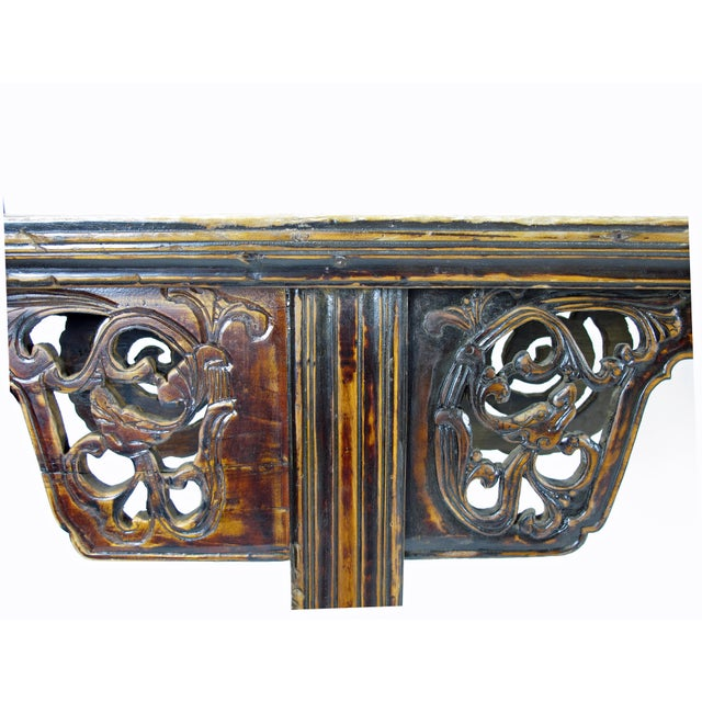Antique Chinese Console Table For Sale - Image 4 of 8