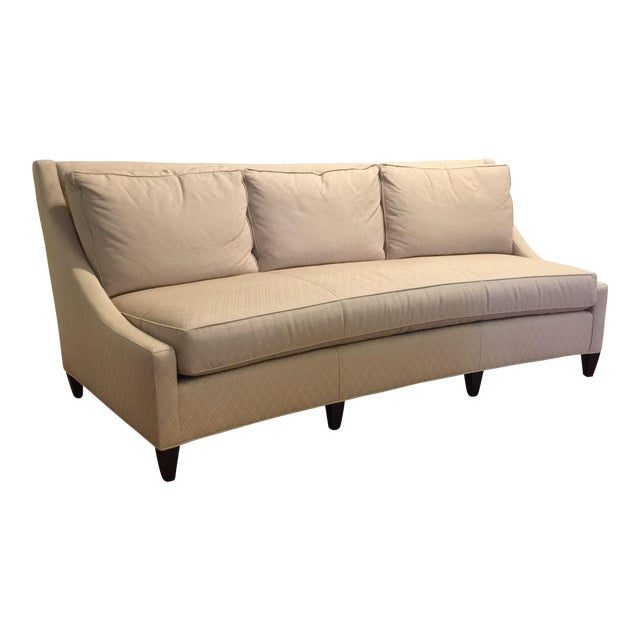 Barbara Barry For Baker Furniture Curved Sofa Image 1 Of 11