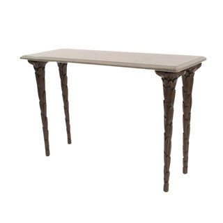 Contemporary Regency Style Console Table For Sale