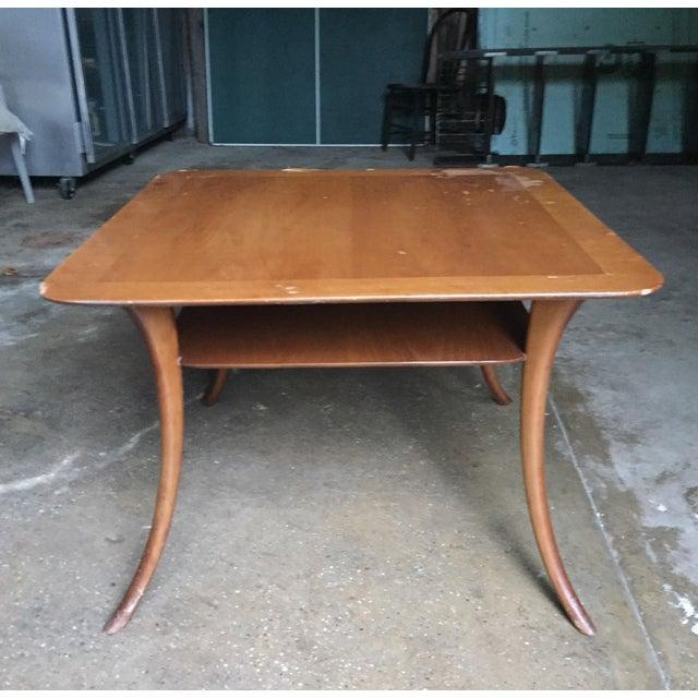 Robsjohn Gibbings Widdicomb Saber Leg Table - Image 2 of 9
