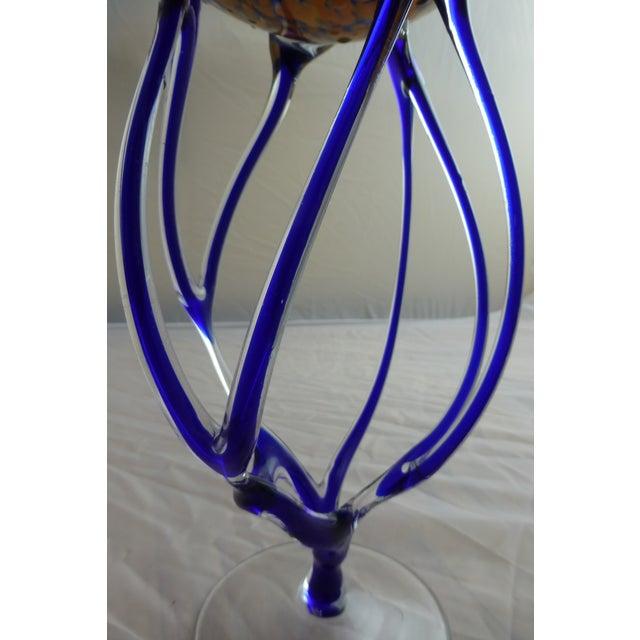 Josefina, Krosno Poland Footed Glass Compote - Image 8 of 8