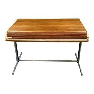 Mid Century George Nelson for Herman Miller Action Office 1 Rolltop Desk For Sale