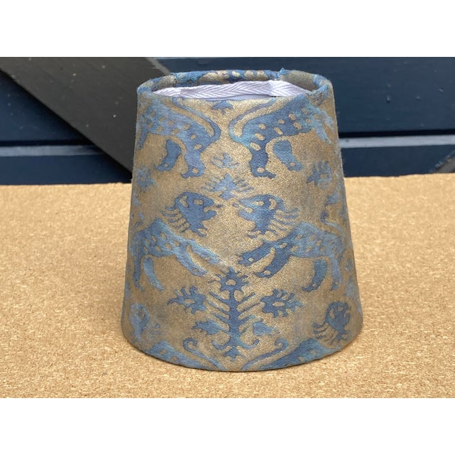 Fortuny Fortuny Richelieu Chandelier Shade For Sale - Image 4 of 4