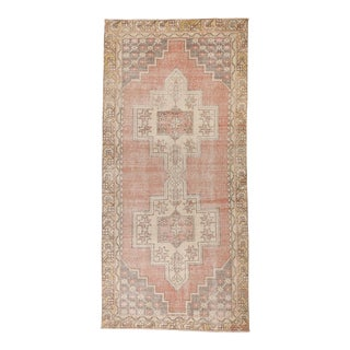 """Old Anatolian Rug, 4' X 8'7"""" For Sale"""