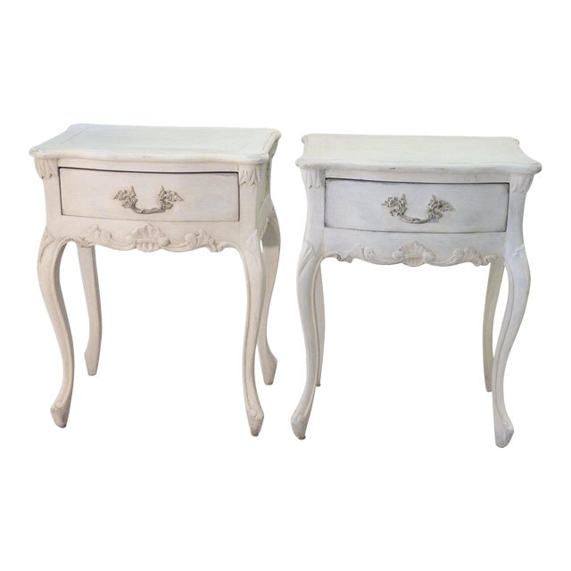 new concept 45942 d809d 20th Century French Country Nightstands - a Pair