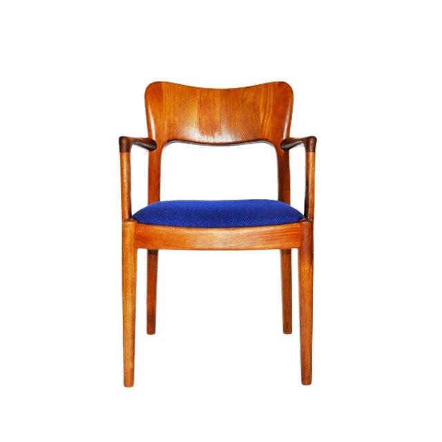 Mid-Century Modern One 1960s Mid-Century Modern Koefoeds Hornslet Teak Arm Chair For Sale - Image 3 of 10