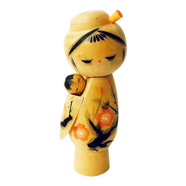 Vintage Japanese Kokeshi Doll - Image 1 of 5