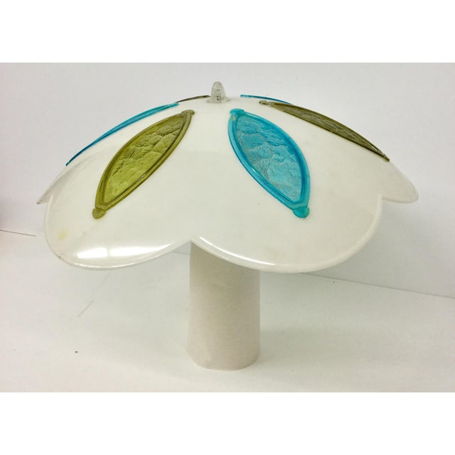 Mid-Century Retro Clip-on Lampshade For Sale - Image 9 of 10