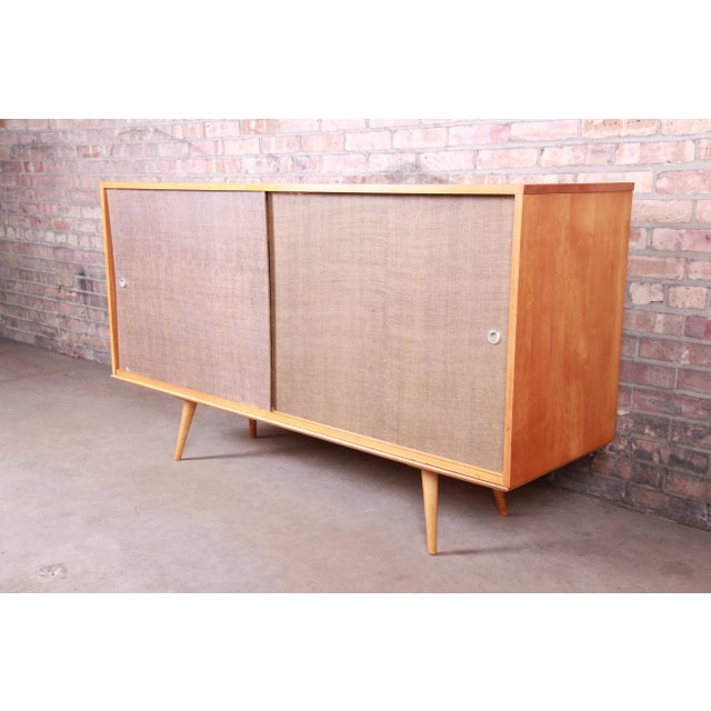 Paul McCobb Planner Group Mid-Century Modern Solid Maple Sideboard Credenza, 1950s For Sale - Image 13 of 13