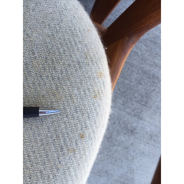 Mid-Century Benny Linden Dining Chairs - 6 For Sale - Image 9 of 10