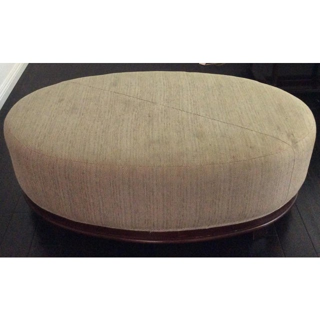 Baker by Barbara Barry Ottoman - Image 3 of 10