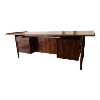1960s Danish Modern Arne Vodder Executive Desk For Sale