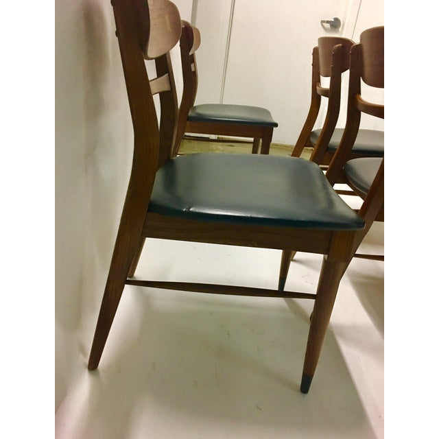 Mid Century Modern Danish Chairs - Set of 4 For Sale - Image 9 of 12
