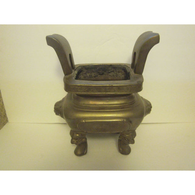 Large Oriental Incense Burner - Image 6 of 11