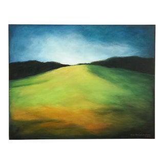 """Toward the Crest"" California Landscape Painting by June Parrish Cookson For Sale"