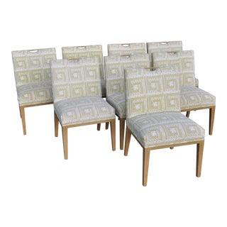 1950s Vintage Edward Wormley for Dunbar Dining Chairs- Set of 8 For Sale