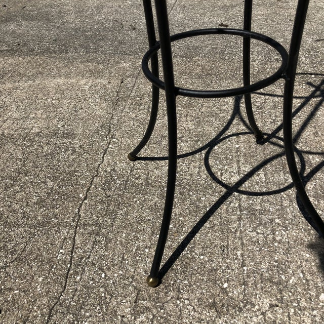 Late 20th Century 20th Century Hollywood Regency Wrought Iron Umbrella Stand For Sale - Image 5 of 6