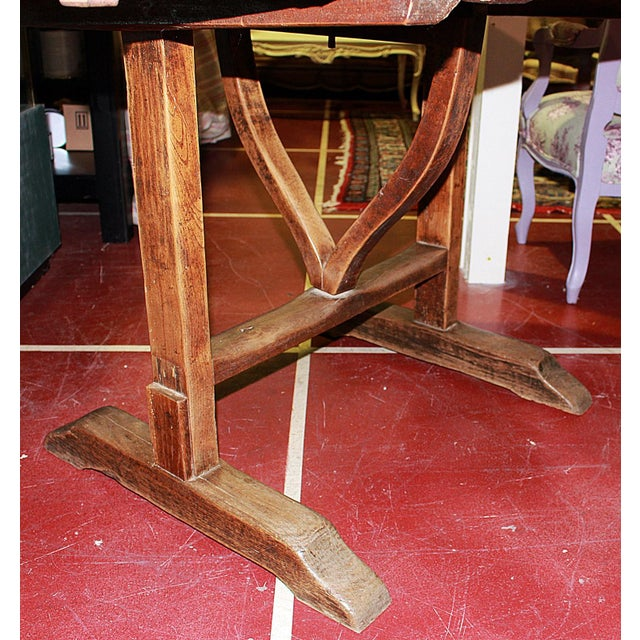 Antique French Wine Tasting Table - Image 8 of 8
