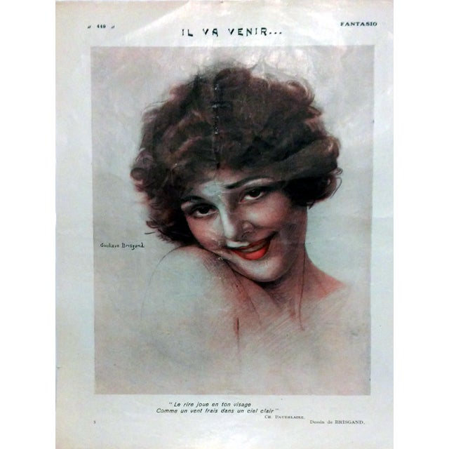 "1923 Fantasio ""Voyeur with Myopia"" by Georges Pavis - Image 5 of 5"