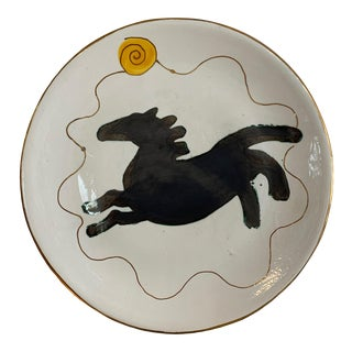 "Suzanne Wallace Mears Platter ""The Flying Horse"" For Sale"