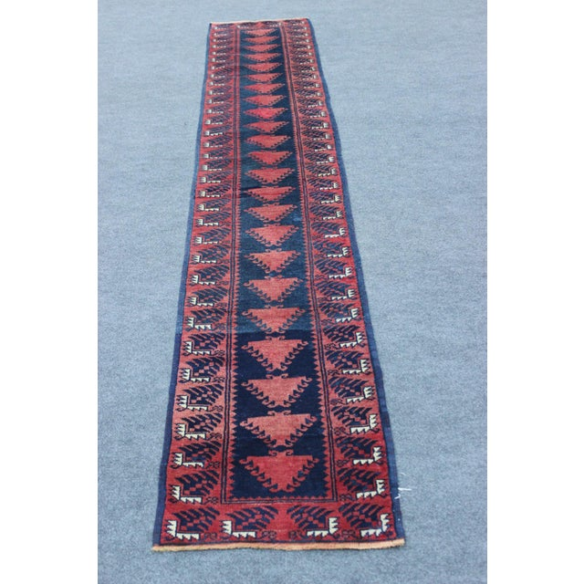 Turkish Hand Made Runner - 1′9″ × 9′5″ - Image 8 of 8
