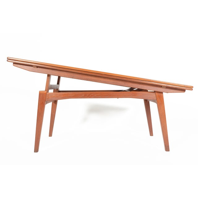 Danish Modern Coffee or Dining Elevation Table - Image 9 of 9