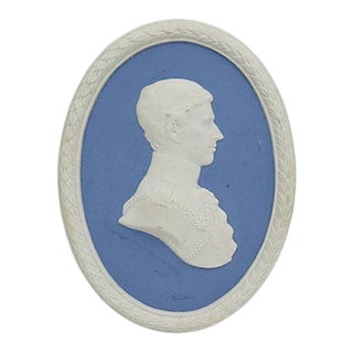 Limited Edition Wedgwood Jasperware Prince Charles Ornament For Sale