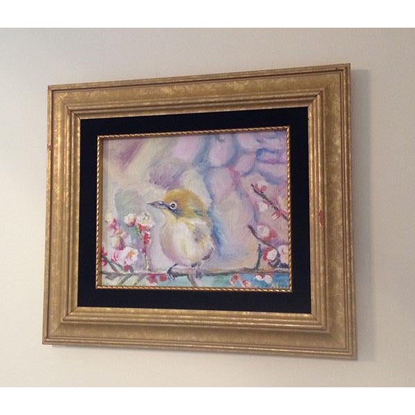 Nancy T. Van Ness Bird on Branch Oil Painting Print - Image 4 of 10