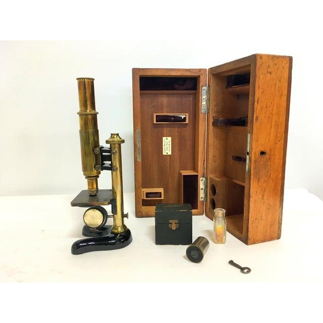 19th-C. Ernst Leitz Wetzlar Microscope - Image 2 of 11