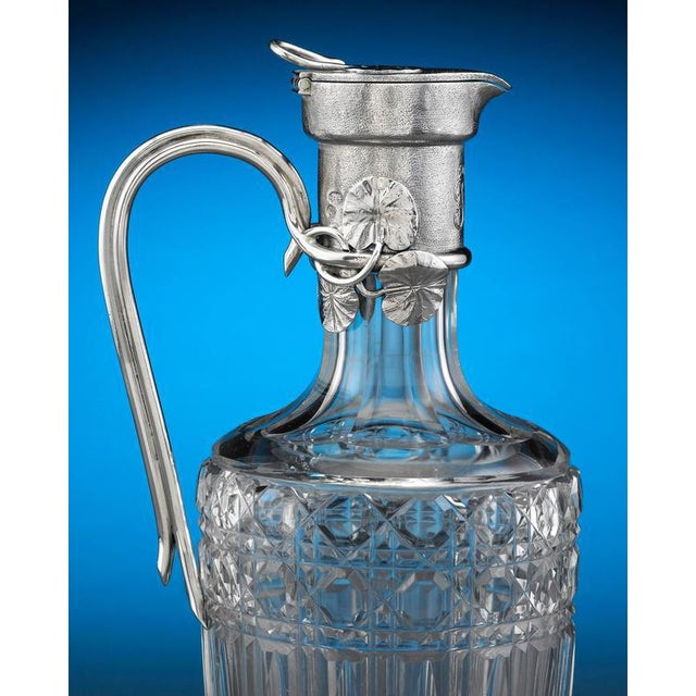 Hollywood Regency Faberge Claret Jug For Sale - Image 3 of 7