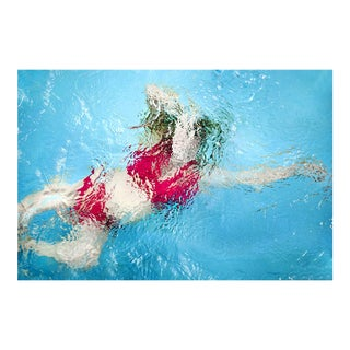 """Cheryl Maeder """"Submerge Judith I"""" Photographic Watercolor Print For Sale"""