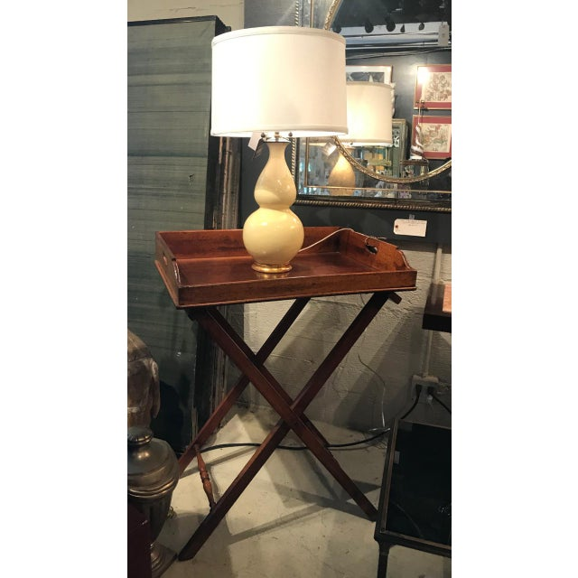 Mid-Century Modern 2002 Early Christopher Spitzmiller Signed and Dated Lamp For Sale - Image 3 of 9