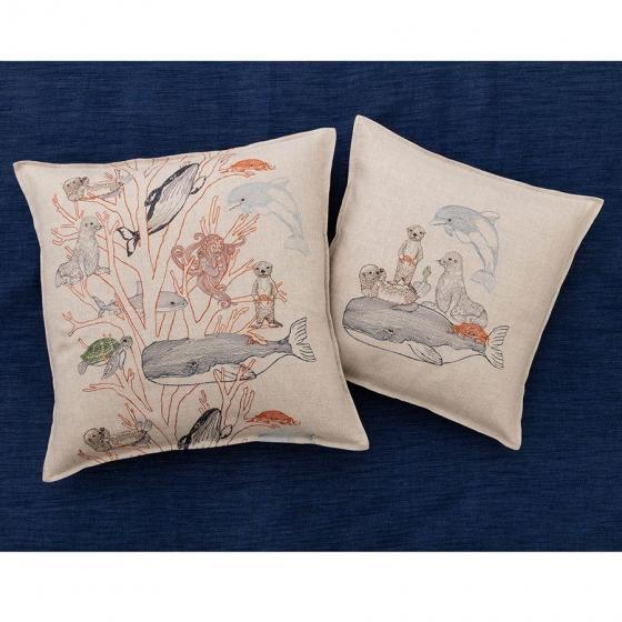 Coral Forest Pillow - Image 4 of 5