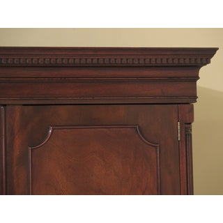 Chippendale Kittinger Mahogany Bedroom Armoire Wardrobe Preview