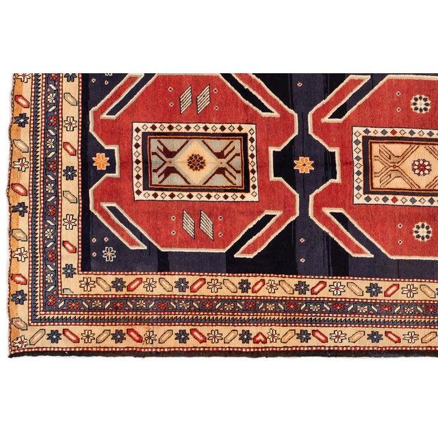 "Islamic Apadana - Vintage n.w. Persian Runner Rug, 4'6"" X 10'2"" For Sale - Image 3 of 7"