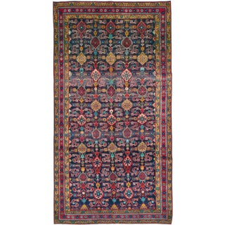 """Vintage Persian Malayer Rug – Size: 5' 3"""" X 10' 4"""" For Sale"""