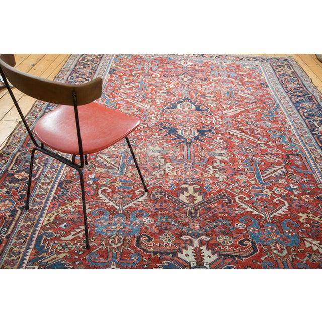 "Distressed Heriz Carpet - 8' X 11'2"" - Image 7 of 10"