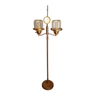 Original Steampunk Floor Lamp For Sale