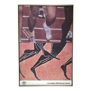1984 John Baldessari Los Angeles Olympics Lithograph Poster For Sale