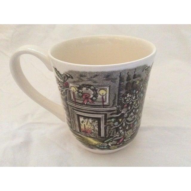 Johnson Brothers Christmas Coffee Mugs - Set of 8 For Sale - Image 5 of 7