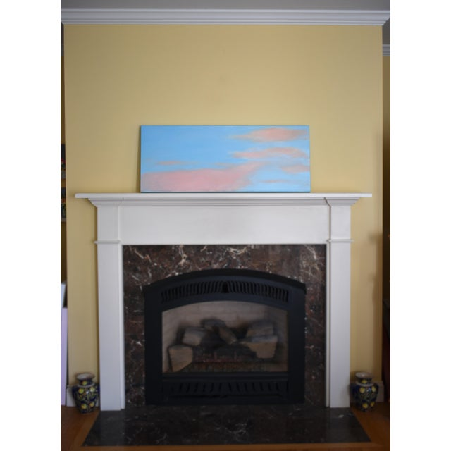 """Stephen Remick """"Morning Clouds"""" Contemporary Painting For Sale - Image 9 of 10"""