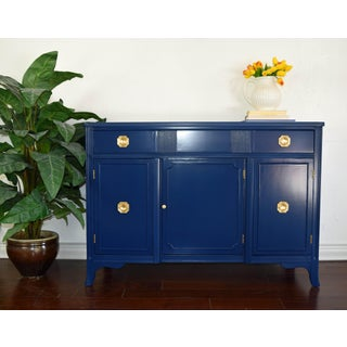 Federalist Navy Blue Sideboard Preview