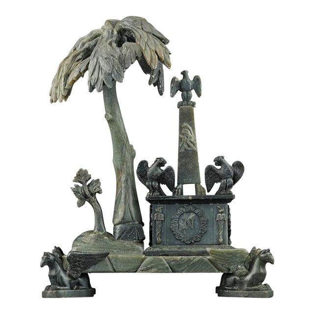 Nephrite Napoleonic Tomb Sculpture For Sale