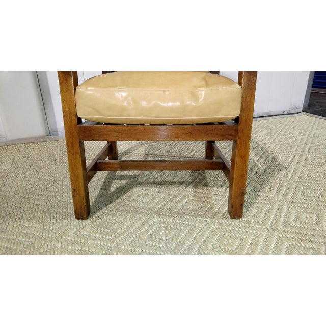Rose Tarlow Rose Tarlow High Back Chair in Walnut Finish For Sale - Image 4 of 11