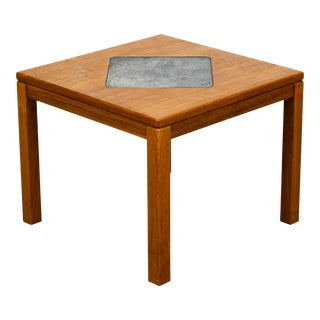 Mid Century Danish Side Table For Sale