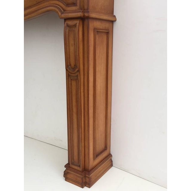 Carved Architectural Fireplace Mantel - Image 3 of 7