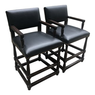 Bausman & Company Chairs- a Pair For Sale